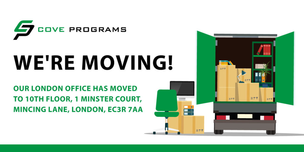 We're Moving - Cove Programs